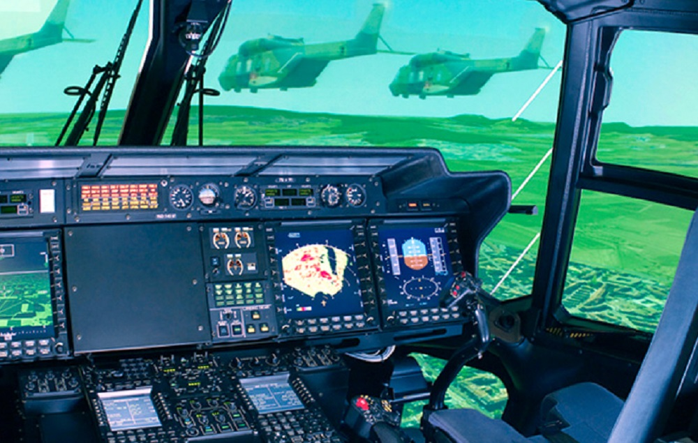 Rheinmetall Modernizing NH90 Helicopter Flight Simulators
