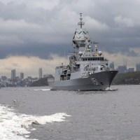 Royal Australian Navy Warships Depart Sydney for First Major Fleet Exercise of 2020