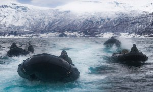 Royal Marines Hit Arctic Coastline on Commando Raids