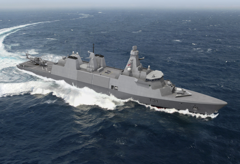 Thales to Provide Mission Systems for Royal Navy's Type 31 Frigates