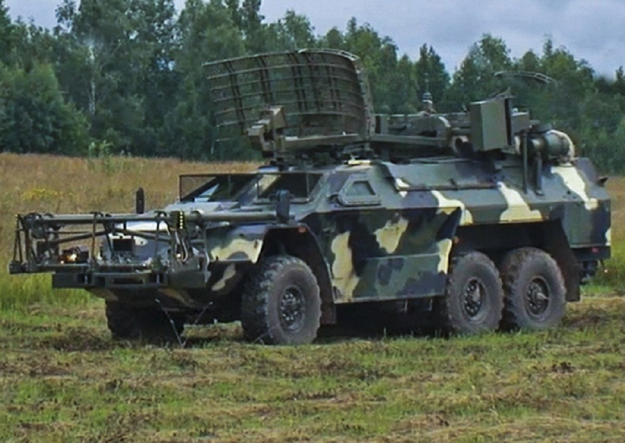 Russian Strategic Missile Forces (Foliage) 15M107Remote Mine Clearing Vehicle