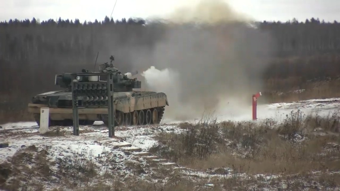 Russian Ground Forces 1st Guards Tank Army