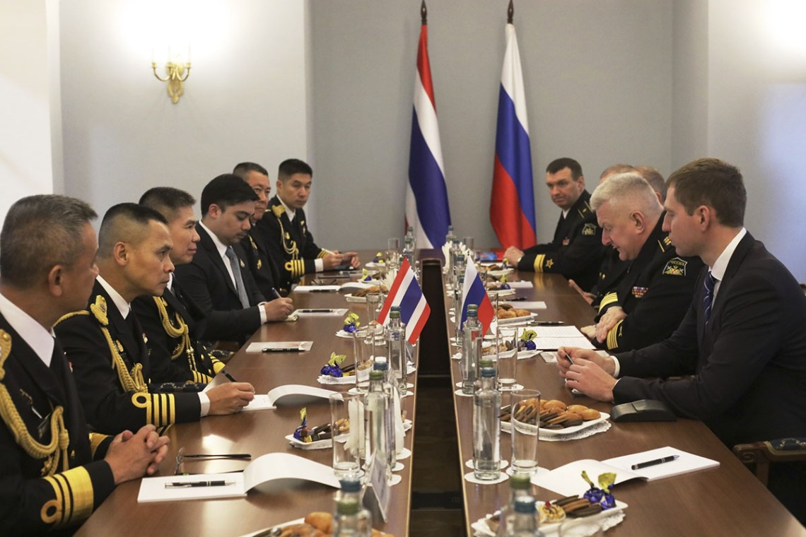 The Commander-in-chief of the Russian Navy and the Commander of the Royal Thai Navy discussed issues of naval cooperation