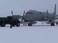 Russian Northern Fleet Il-38 Dolphin Anti-submarine Aircraft Training