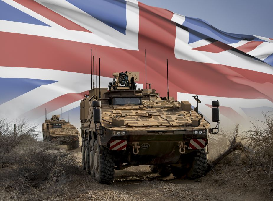 British Army Boxer Mechanised Infantry Vehicles