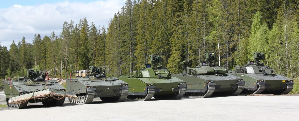 BAE Systems CV90 MkIV Infantry Fighting Vehicle