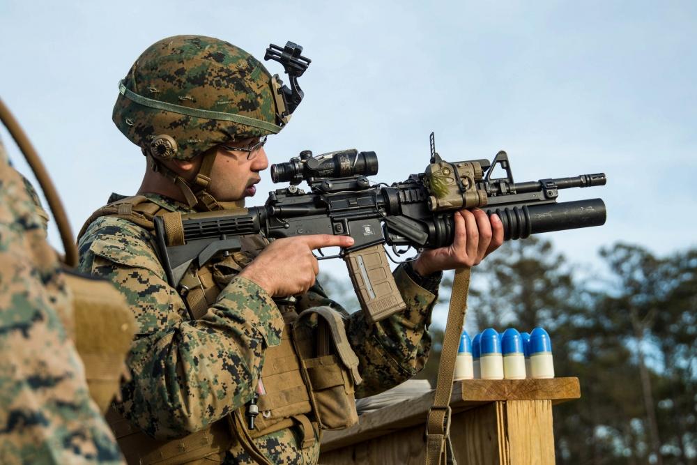 M320A1 40 mm Grenade Launcher Module