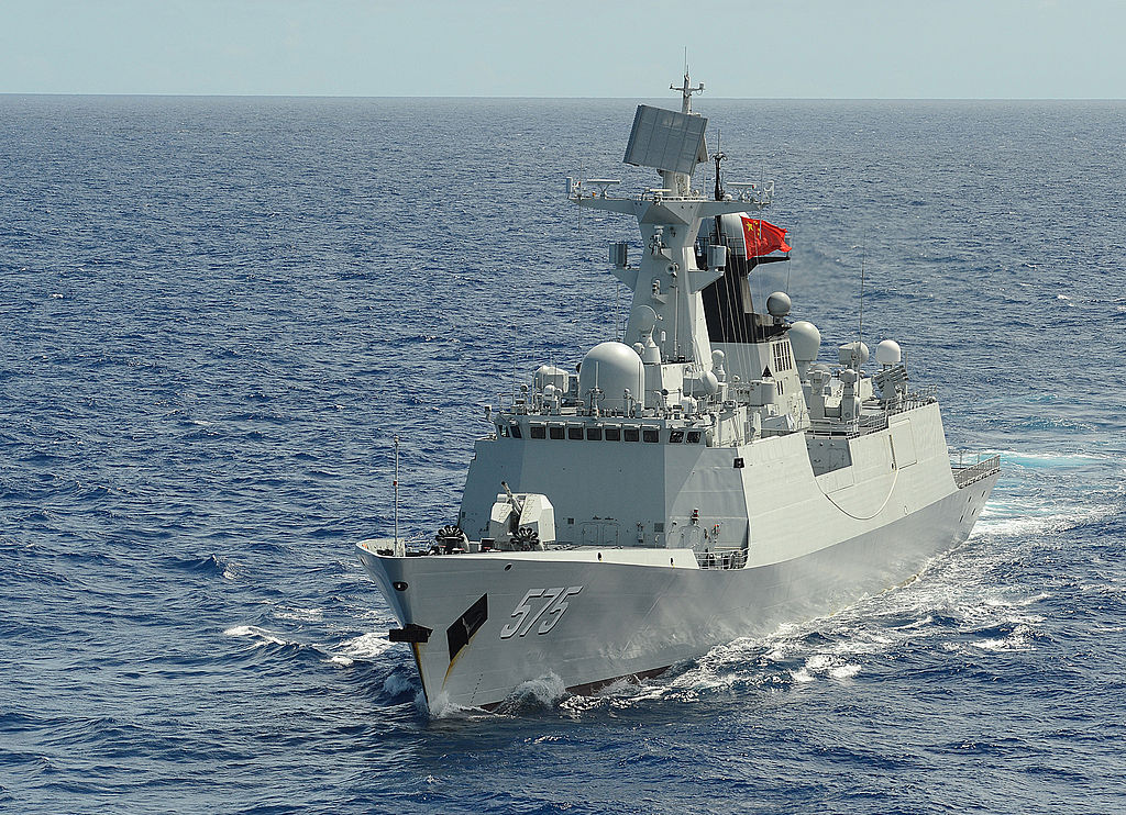 People's Liberation Army Navy Yueyang (575) Type 054A-Class Frigate