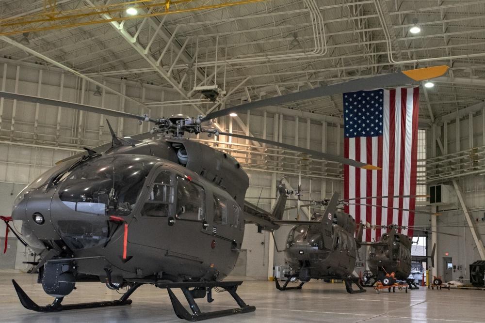 U.S. Army's UH-72A Lakota Light Utility Helicopter