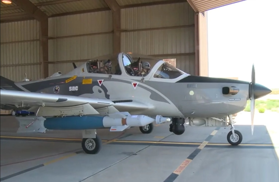 Sierra Nevada Corporation A-29 Super Tucano Counter-Insurgency Aircraft
