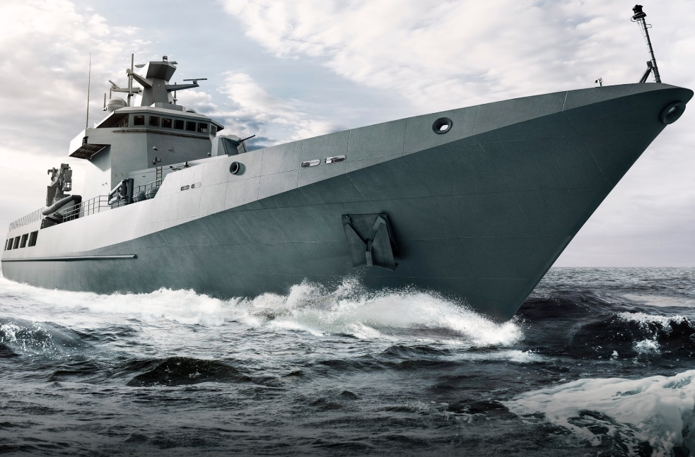 The Arafura class is a multipurpose small warship class for the Royal Australian Navy (RAN). The class of ships will be based on Lürssen's OPV80, similar to the Darussalam-class offshore patrol vessel of the Royal Brunei Navy.