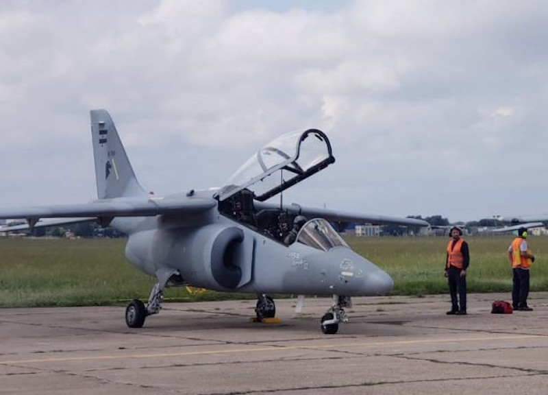 FAdeA Delivers Sixth IA 63 Pampa III to Argentine Air Force