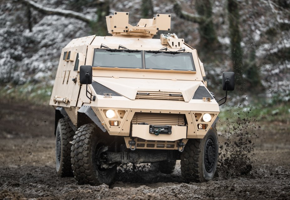 ARQUUS Bastion Highly Mobile Armored Vehicle