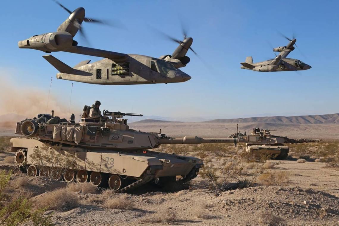 BELL V-280 Valor U.S. Army's Future Long Range Assault Aircraft (FLRAA)