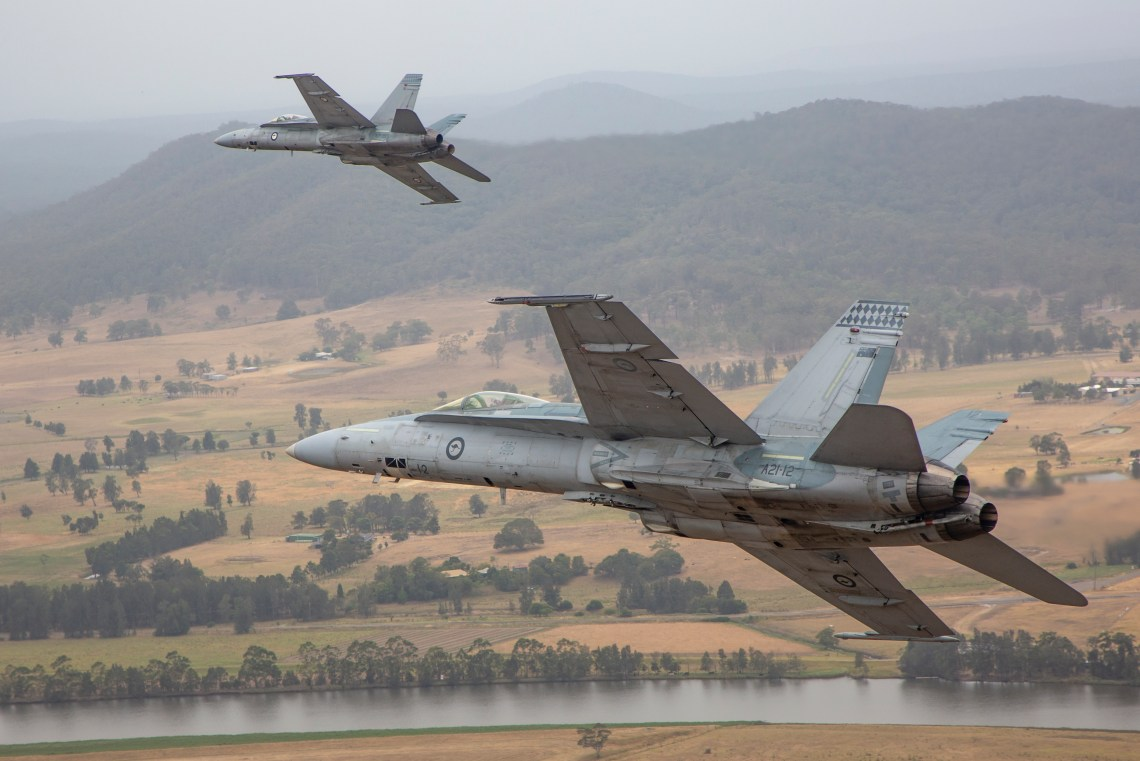 Royal Australian Air Force F/A-18A Hornet