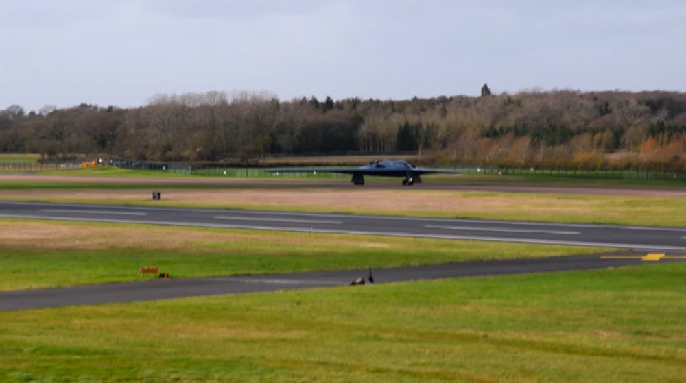 B-2 Spirits arrive at RAF Fairford for Bomber Task Force Europe 2020