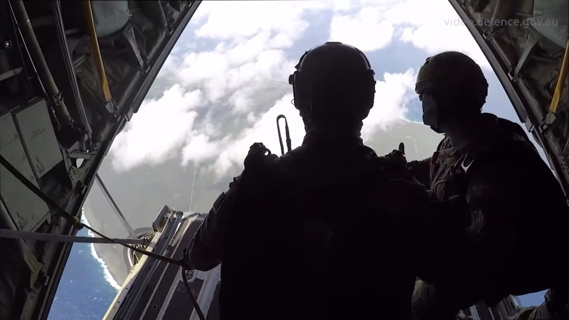 Exercise Cope North 2020 - Combat Control Team insertion