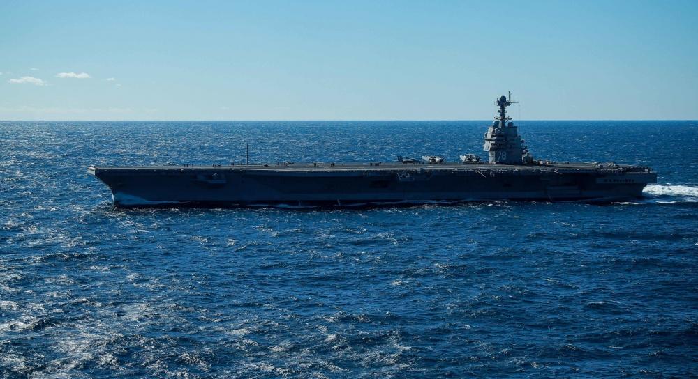 USS Gerald R. Ford (CVN 78) aircraft carriers