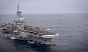 French Navy Charles de Gaulle aircraft carrier