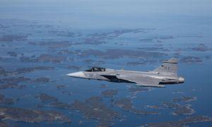 Saab Gripen E fighter aircraft