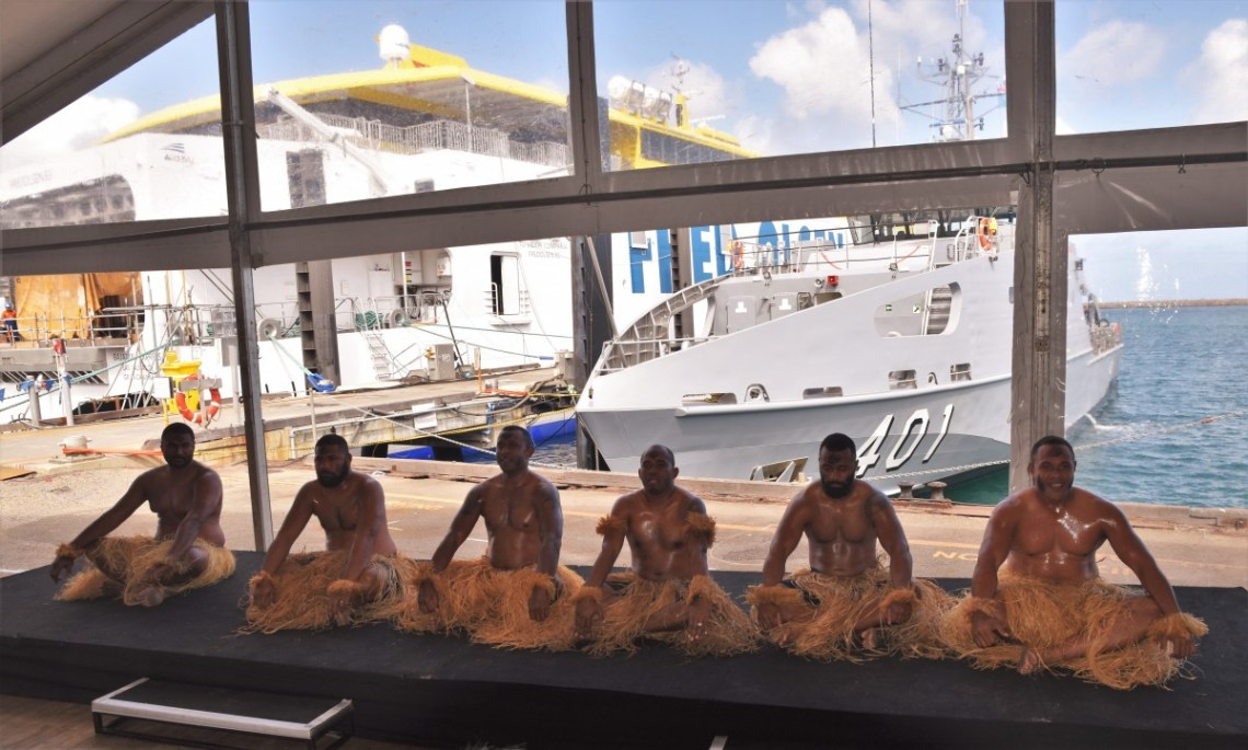 Fijian Navy RFNS Savenaca Guardian-class Patrol Boat