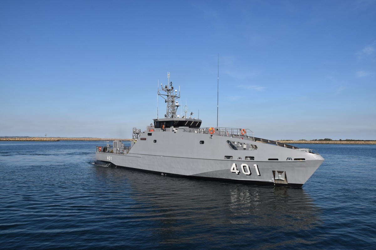 Fijian Navy RFNS Savenaca Guardian-class Patrol Boat