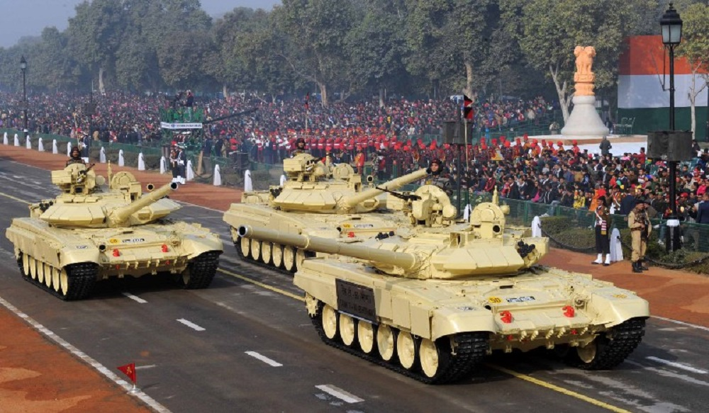 Indian Army T-90S Bhishma Main Battle Tanks