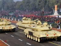 Indian Army T-90S Bhishma Main Battle Tanks