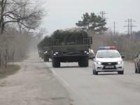 Iskander-M mobile short-range ballistic missile