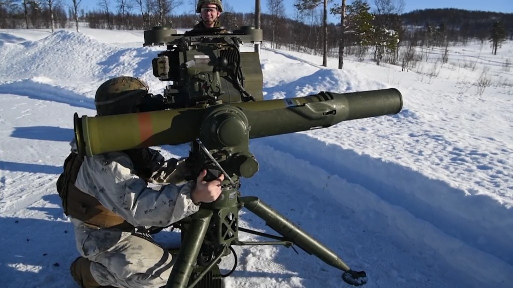 M98A2 Javelin and M41A7 Saber During a Live-Fire Range