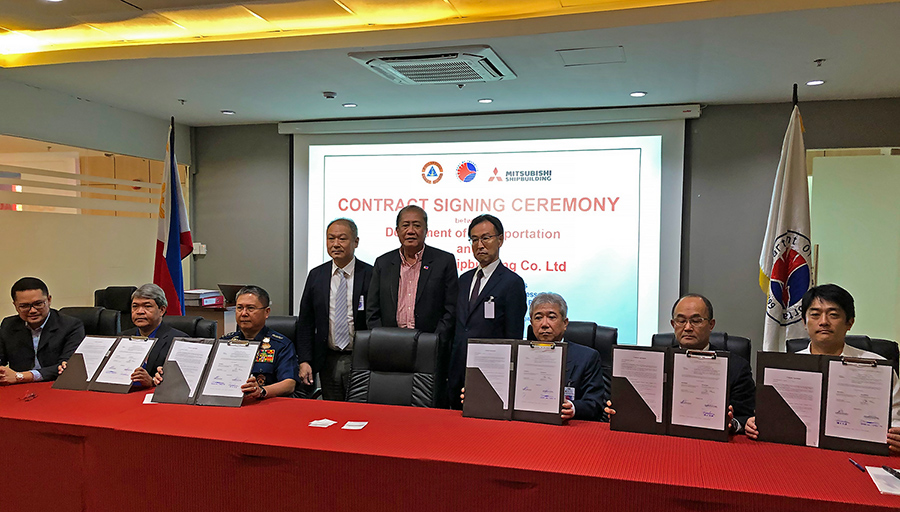 Contract Signing Ceremony (MHI)
