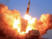 North Korea Launched Two KN24 Short-Range Ballistic Missiles