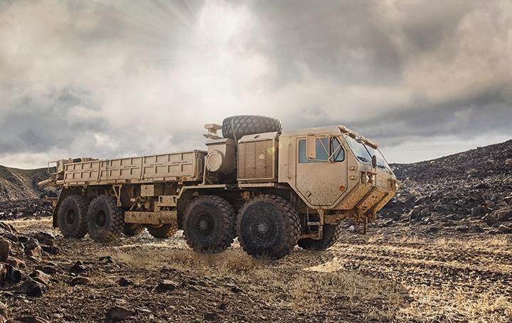 Oshkosh Heavy Expanded Mobility Tactical Trucks (HEMTT)