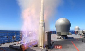 Royal Australian Navy HMAS Arunta Tests Its Evolved Sea Sparrow Missile