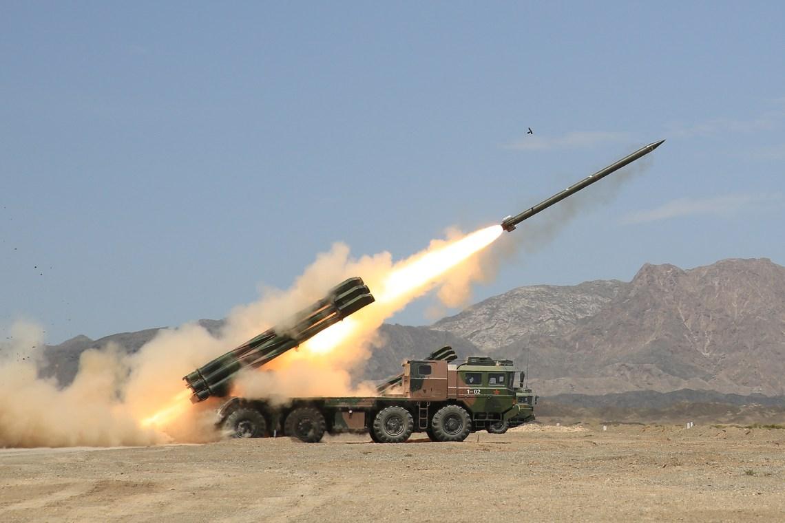 PHL-03 Multiple Launch Rocket Systems (MLRS)
