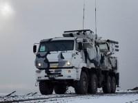 Russian Northern Fleet Pantsyr-S1 Eliminate Ground Targets in Arctic drills