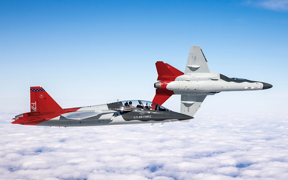 Boeing T-7A Red Hawk Advanced Jet Trainer