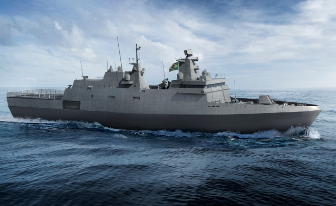 Thyssenkrupp, Embraer, Atech to Build Four Tamandaré Corvettes for Brazilian Navy