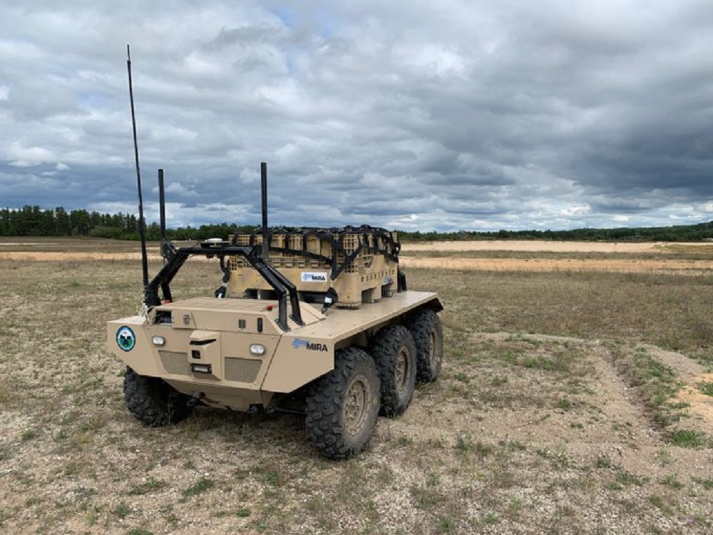 Horiba Mira VIKING 6x6 Unmanned Ground Vehicles