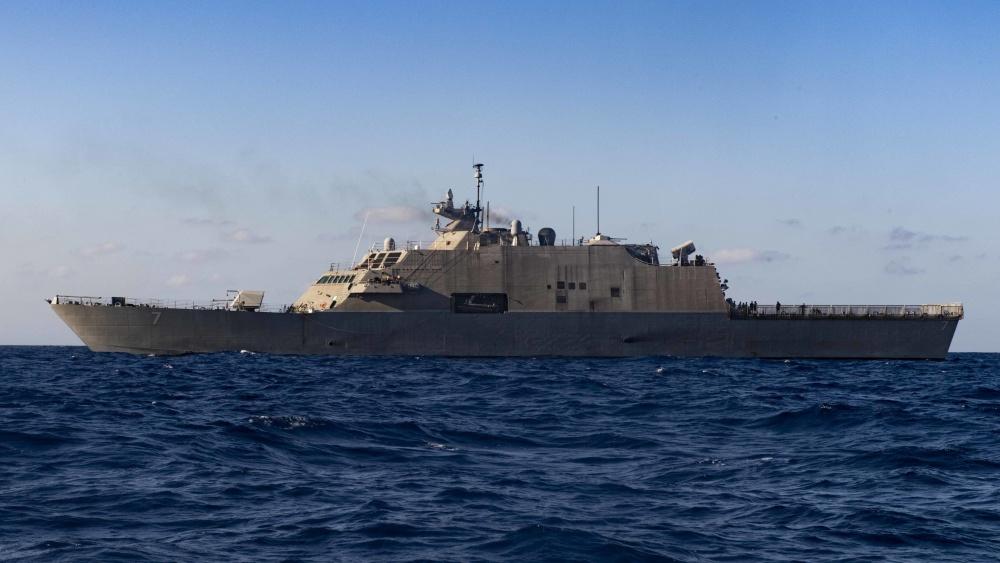 USS Detroit (LCS 7) Arrives in Key West for Maintenance