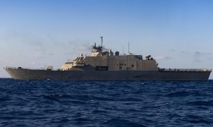 USS Detroit (LCS 7) Arrives in Key West for Maintenance