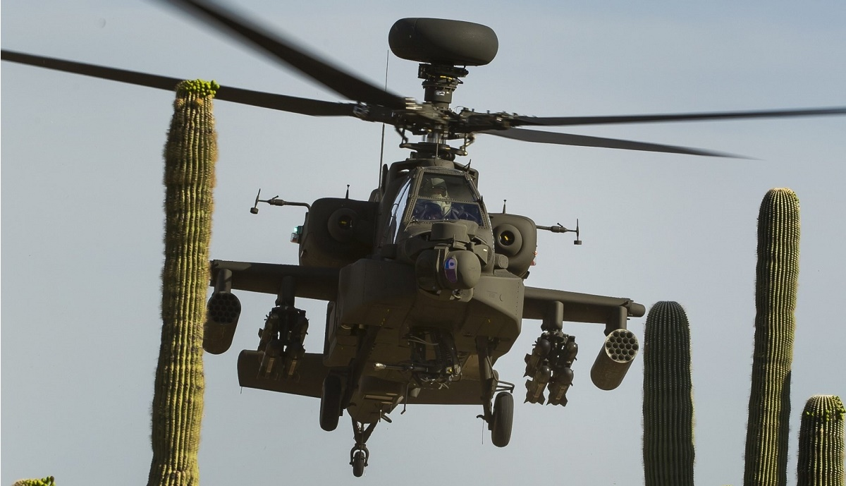 Boeing Delivers 500th AH-64E Apache Guardian Attack Helicopter