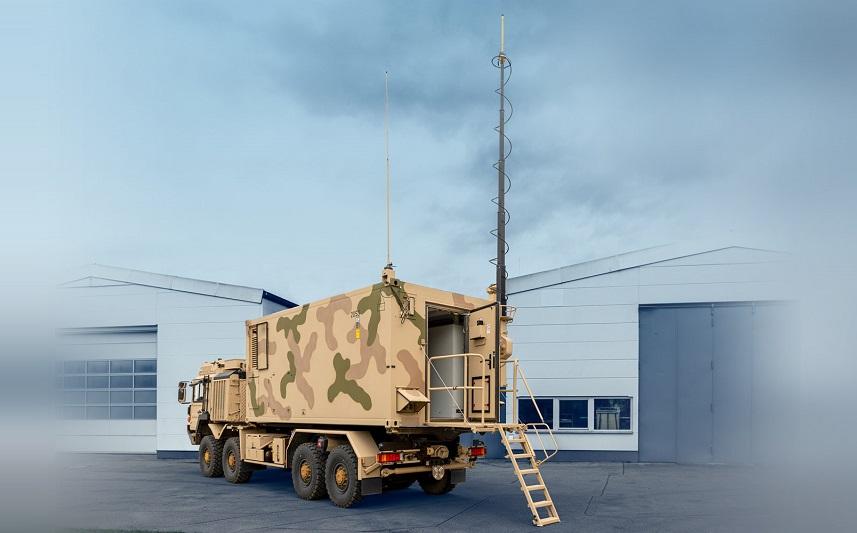 Diehl Tactical Operation Center Shelter for GB Air Defence Taken Over