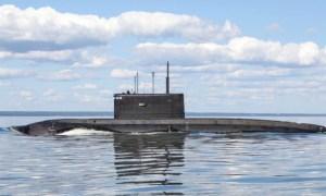 Russian Improved Kilo-class submarine