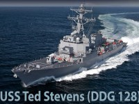 Huntington Ingalls Industries Begins Fabrication of Destroyer Ted Stevens (DDG 128)