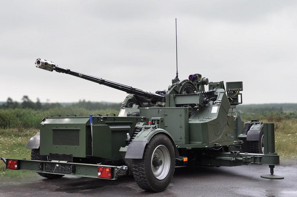 A-35/AG-35 35mm Towed Anti-Aircraft Gun