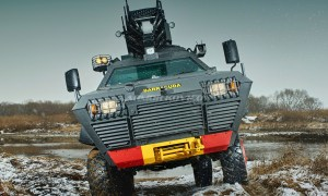 Armor Kovico Black Shark Armored Vehicle