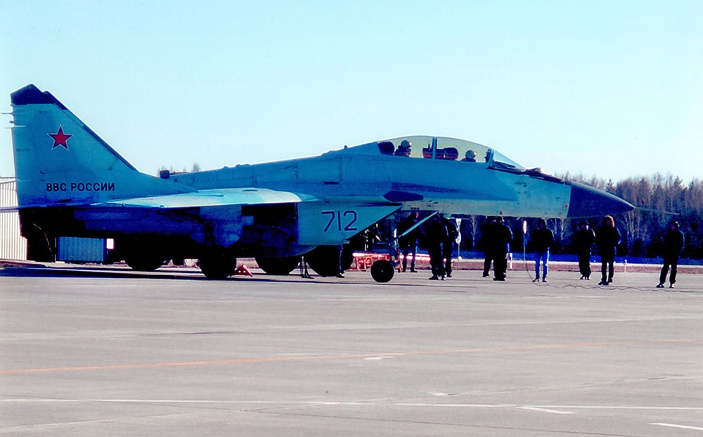 Azerbaijani Air Force Pilots Test-Fly MiG-35 Fighter