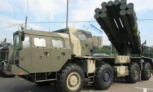 Baltic Fleet Artillery Receives New MLRS Smerch