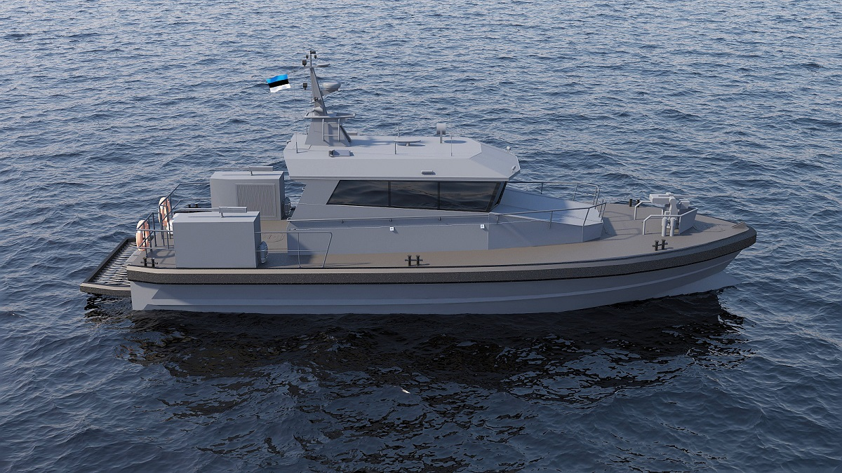 Baltic Workboats Supplying Force Protection Boats to Estonian Navy